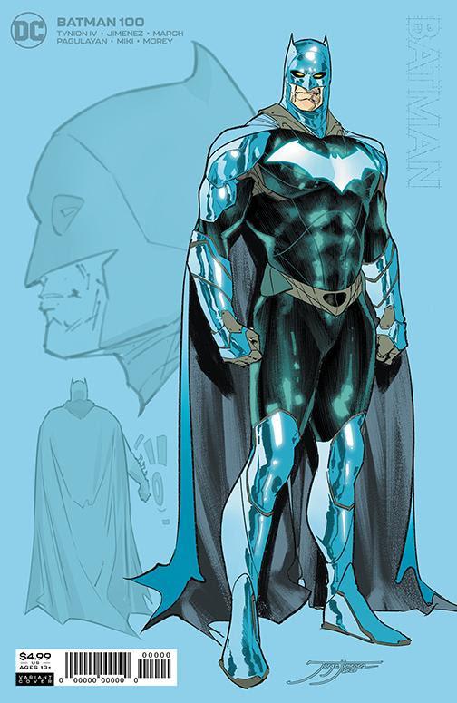 Batman #100 - materiały promocyjne