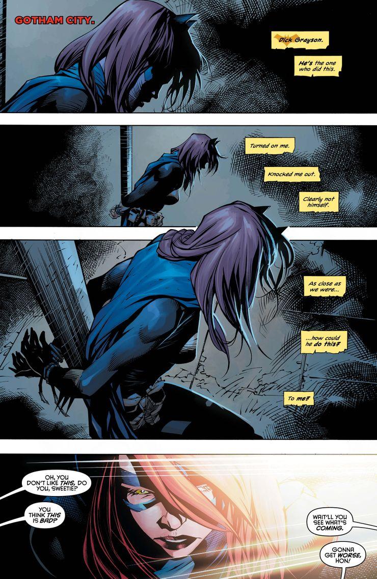 Nightwing #73 - plansze