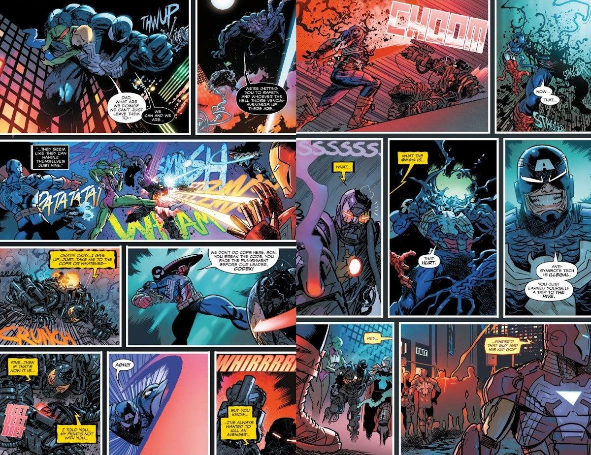 Venom #27 - plansze