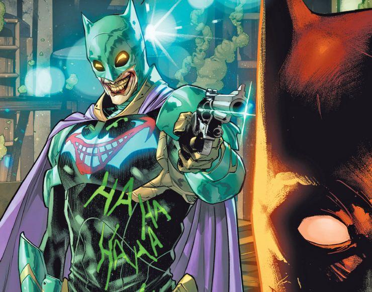 Batman #99 - plansze