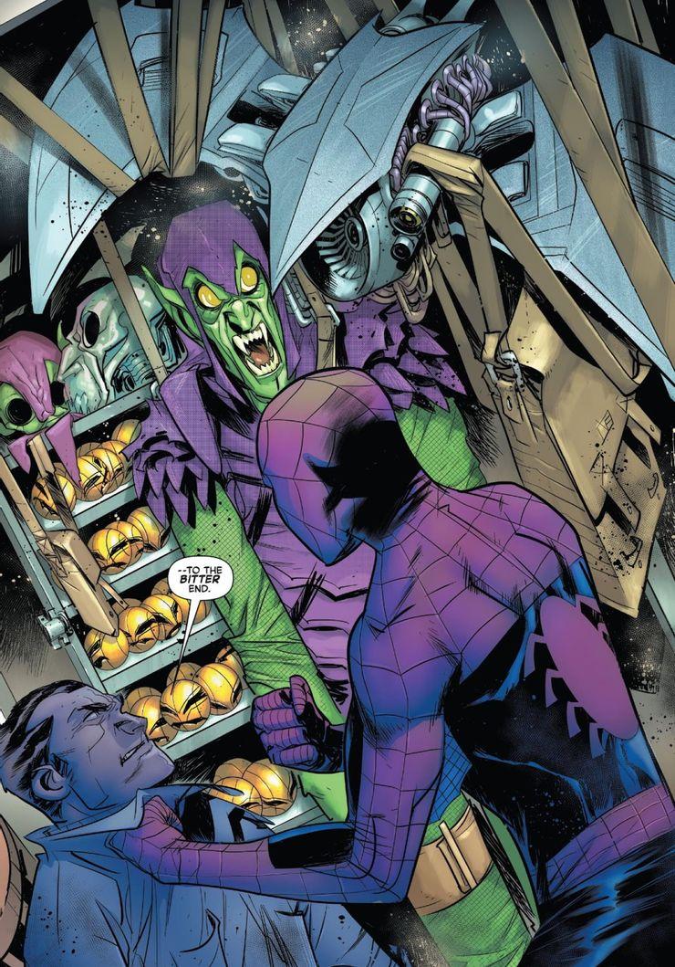 Amazing Spider-Man: The Sins of Norman Osborn #1 - plansze