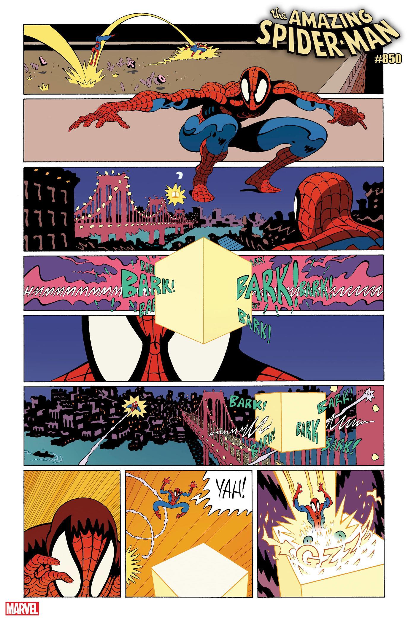 Amazing Spider-Man #850 - plansze