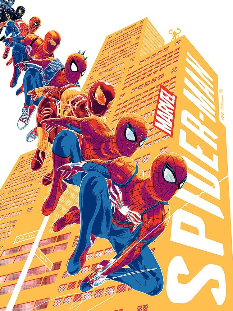 Marvel's Spider-Man - plakat