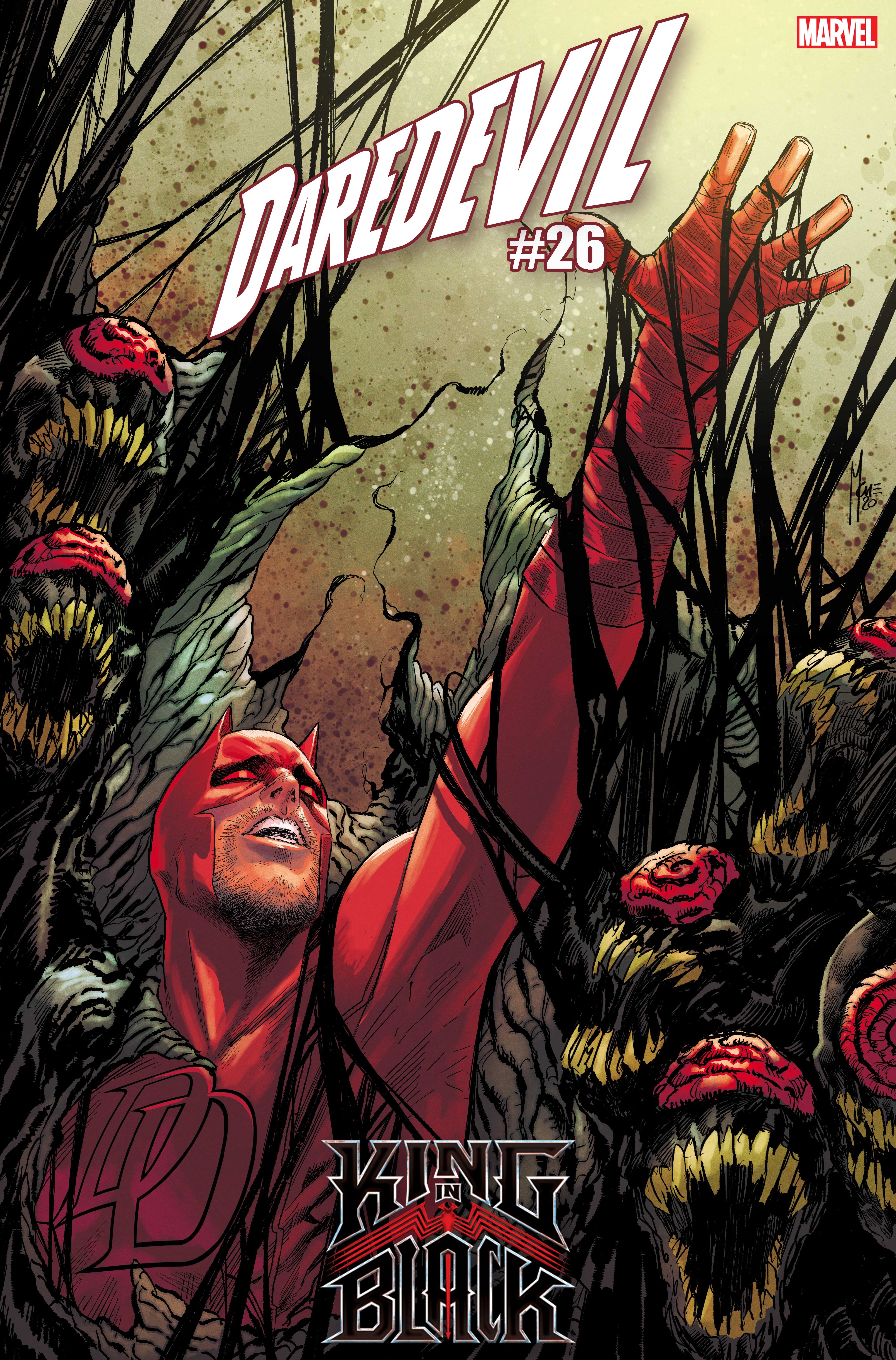 Daredevil #26 - okładka