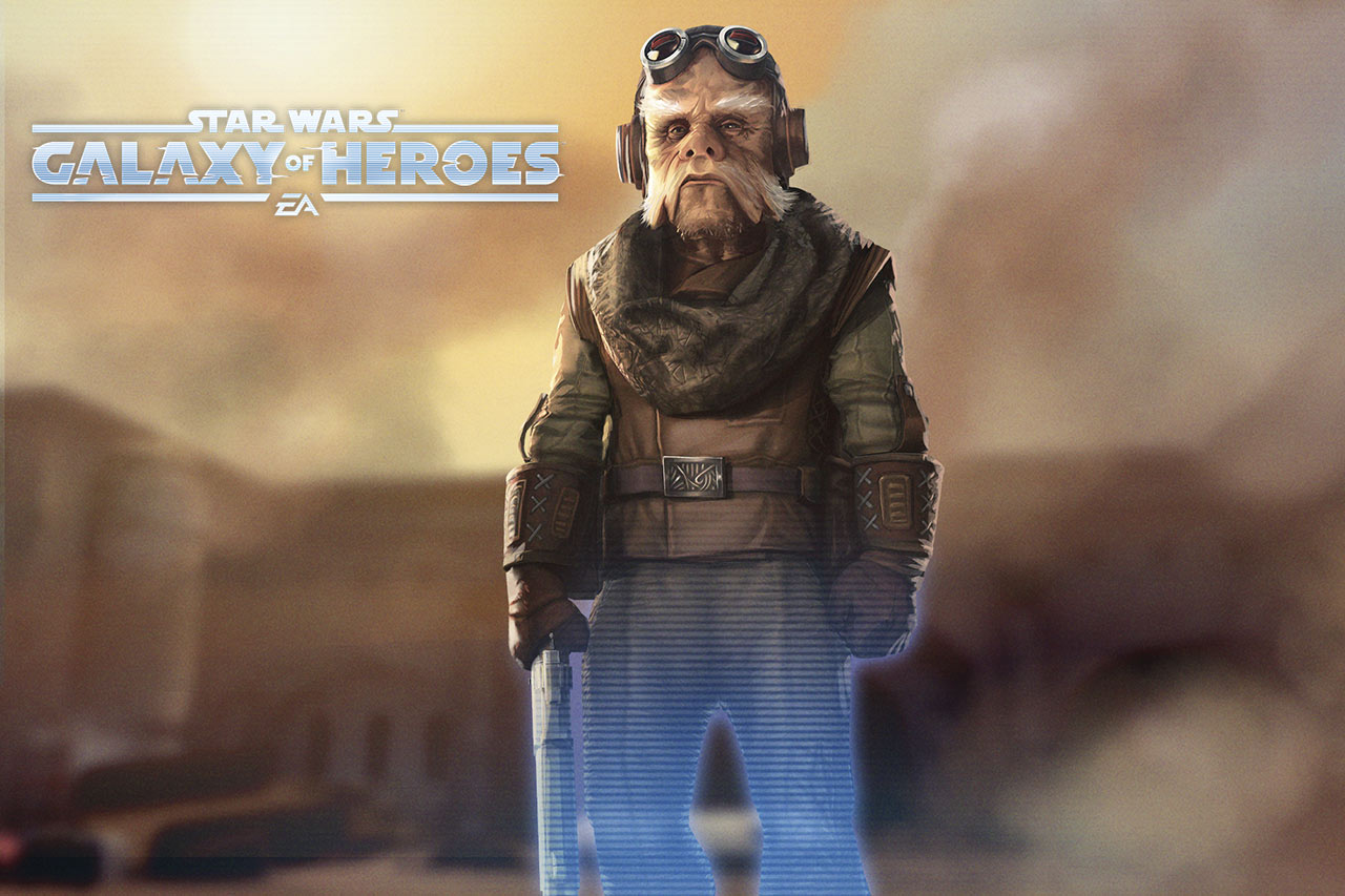 Star Wars: Galaxy of Heroes - zawartość z serialu The Mandalorian