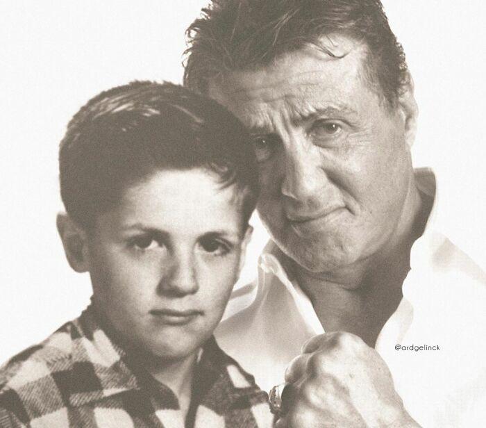 Aktorzy i celebryci obecnie i w dzieciństwie -