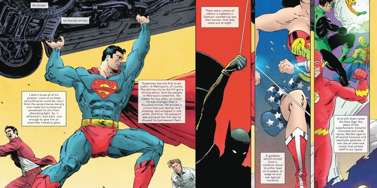 The Other History of the DC Universe #1 - plansze