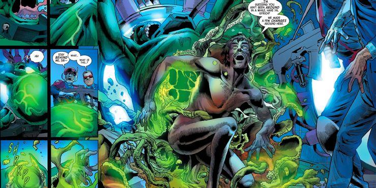 Immortal Hulk #40 - plansze