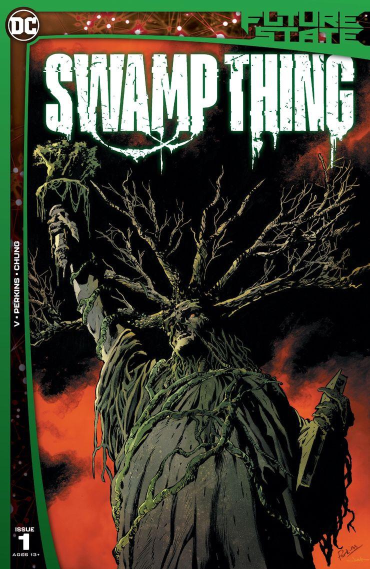Future State: Swamp Thing #1 - okładka