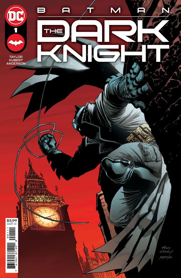 Batman: The Dark Knight #1 - okładka