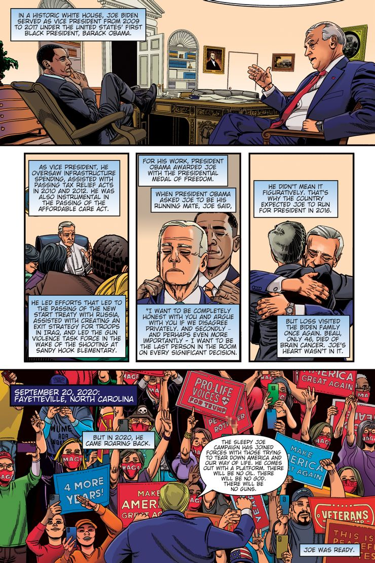 Political Power: President Joe Biden - plansze
