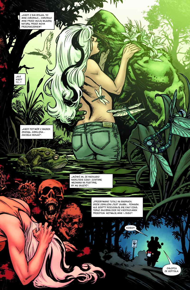 Potwór z bagien (Scott Snyder) - plansze