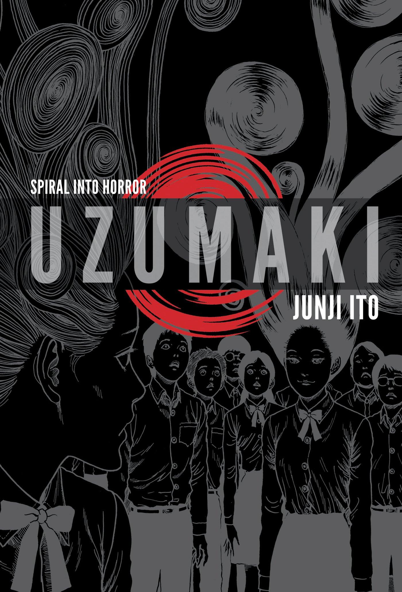 10. Uzumaki (autor: Junji Ito)