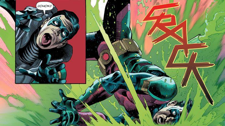 Future State: Robin Eternal #1 - plansze
