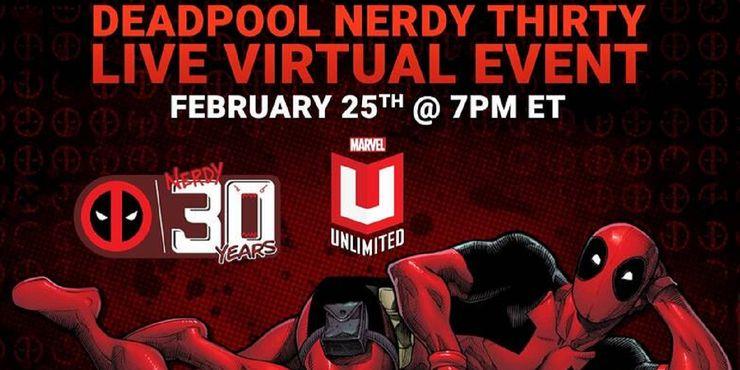Deadpool Nerdy Thirty - wydarzenie online