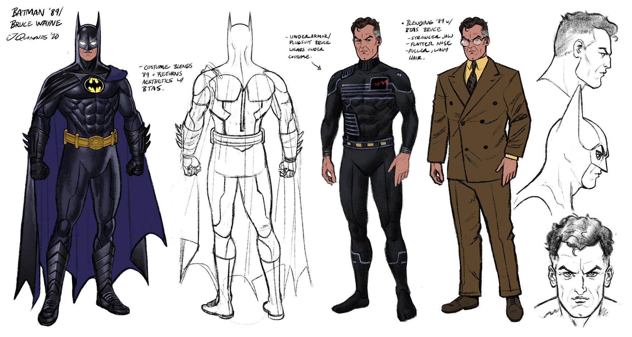 Batman'89 - szkice koncepcyjne