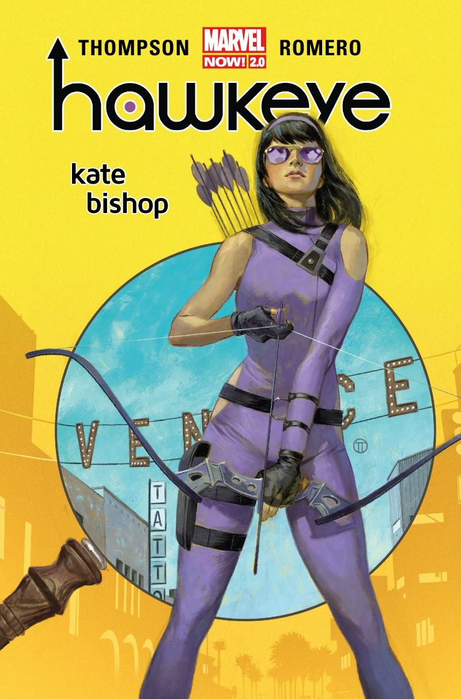 Hawkeye. Kate Bishop - okładka