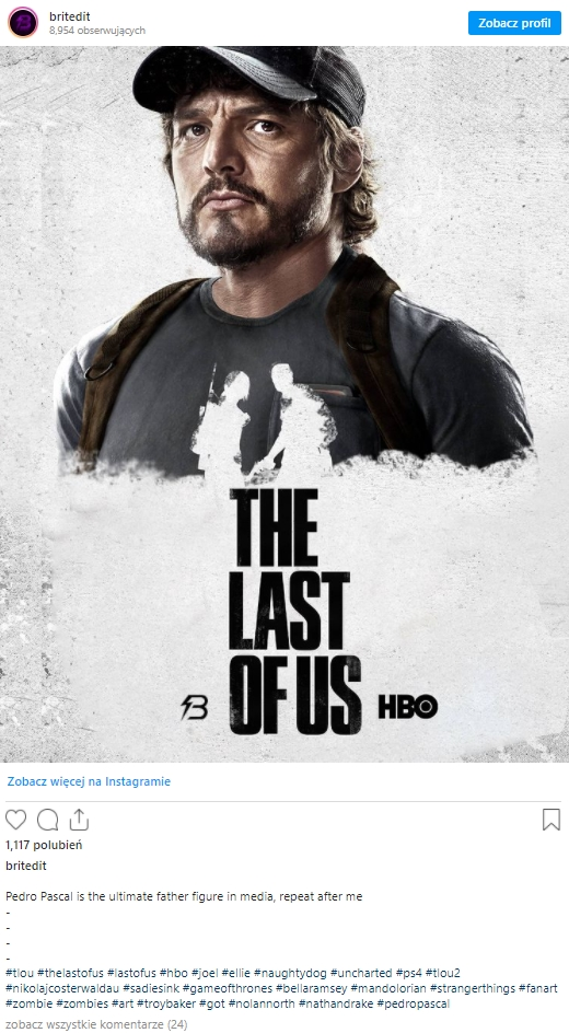 Serial The Last of Us - fanarty
