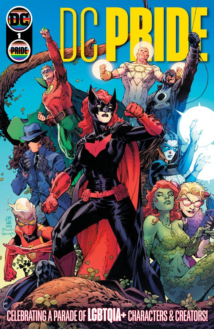 Pride Month - okładki komiksów DC