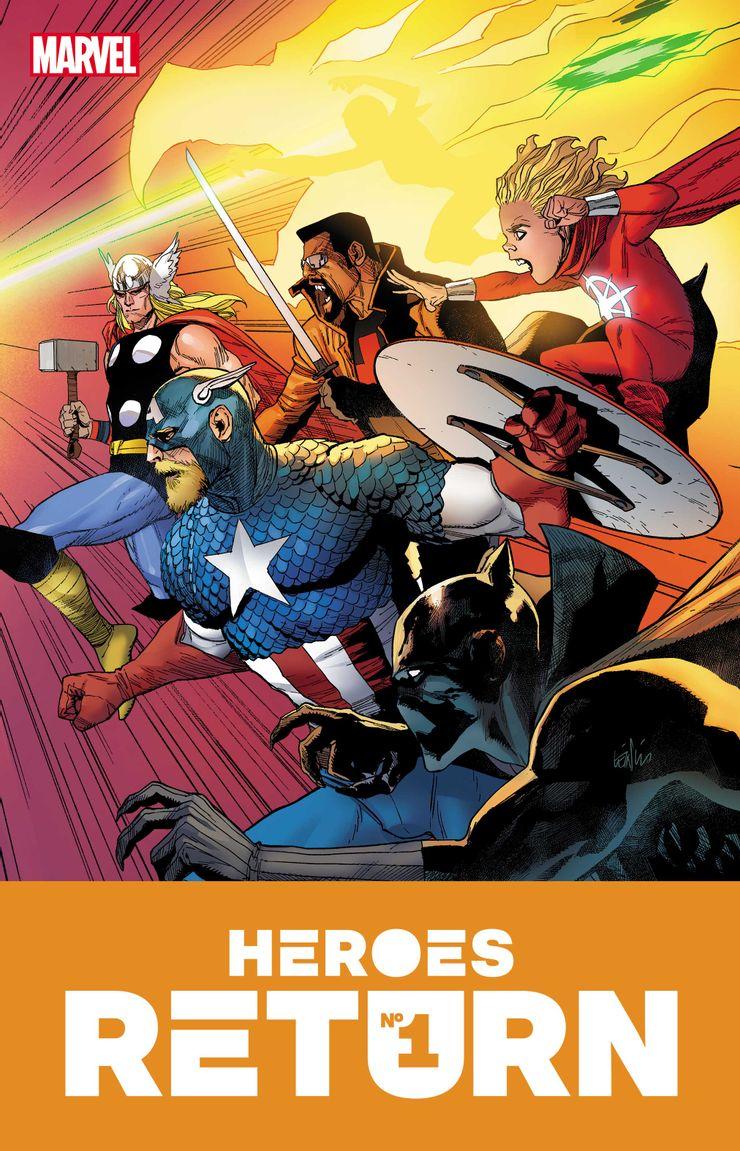 Heroes Reborn - materiały promocyjne