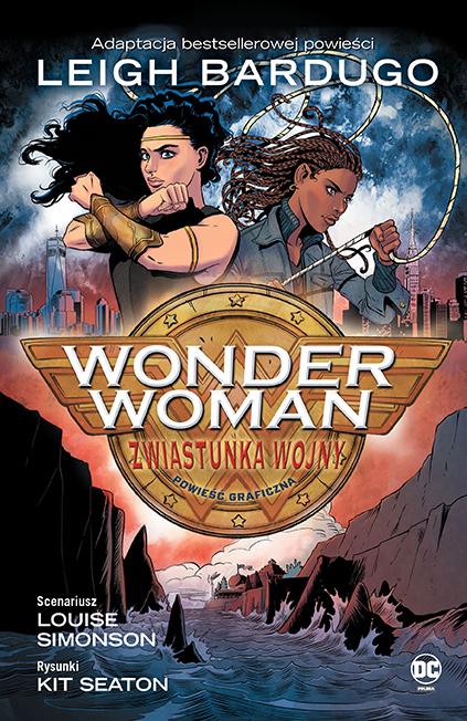 Wonder Woman. Zwiastunka wojny - okładka