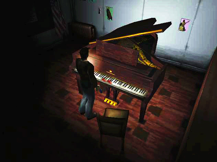 10. Silent Hill - zagadka z pianinem