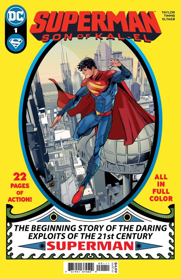 Superman: Son of Kal-El #1 - materiały promocyjne