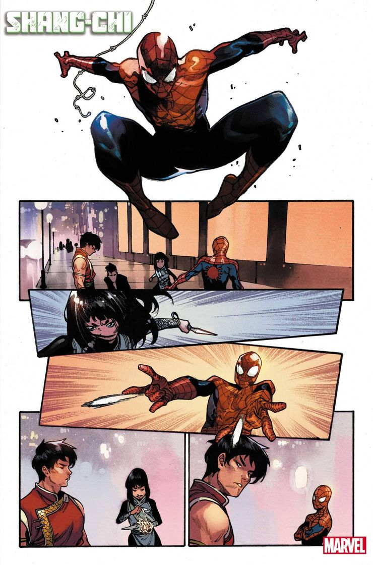 Shang-Chi #1 - materiały promocyjne