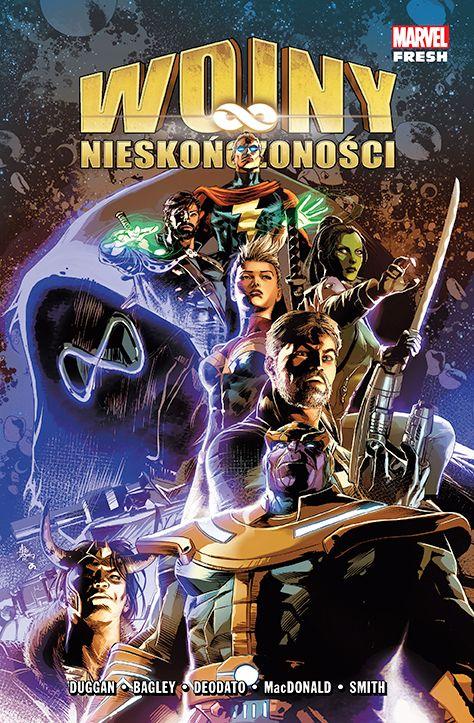 Marvel Fresh w Polsce - plansze i okładki; Wojny nieskończoności