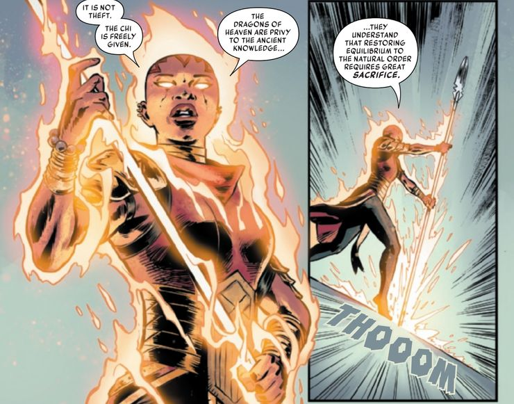 Iron Fist: Heart of the Dragon #5 - plansze