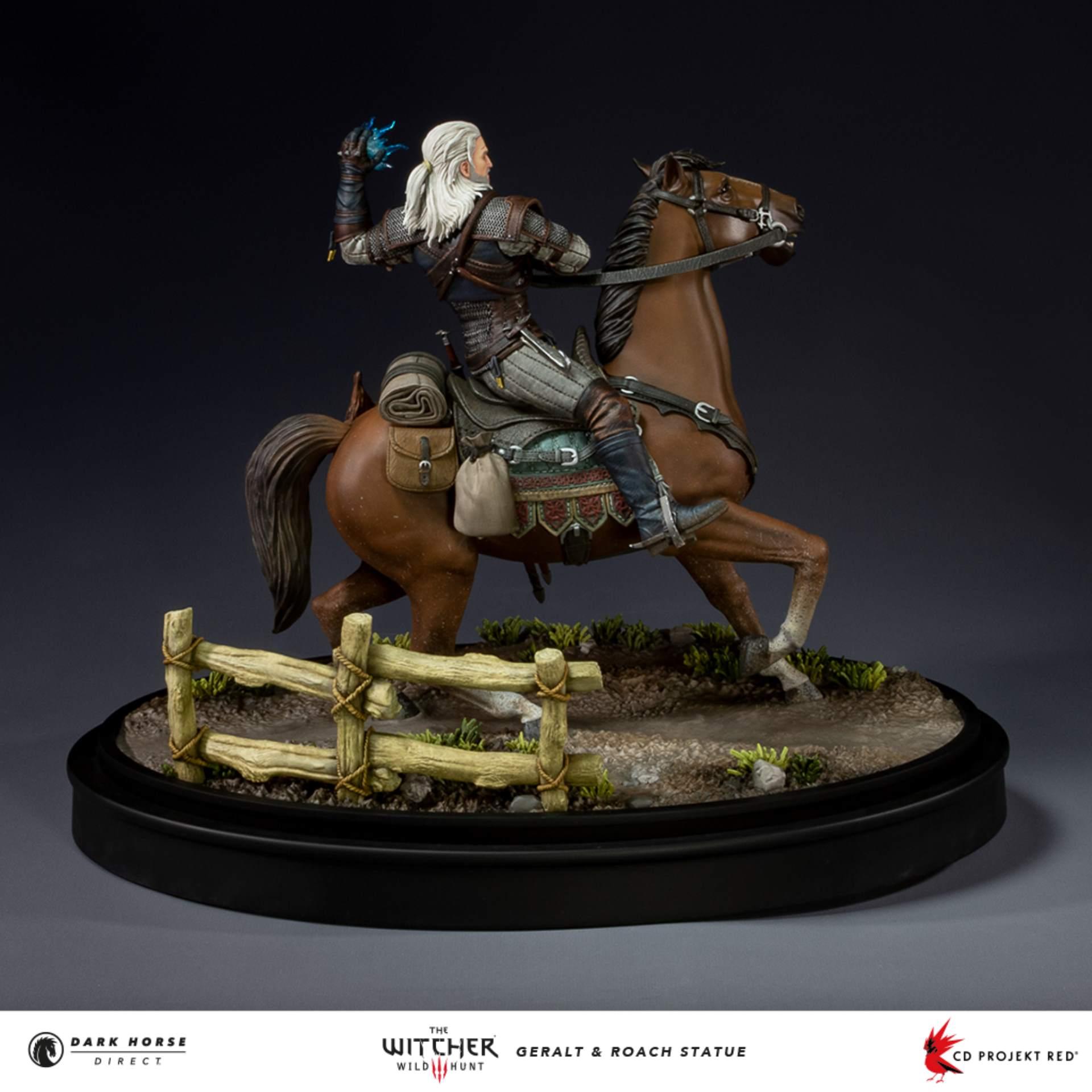 Wiedźmin 3: Geralt i Płotka - figurka od Dark Horse
