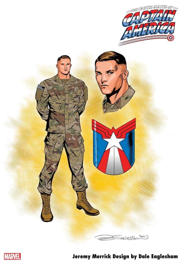 Jeremy Merrick - The United States of Captain America #5