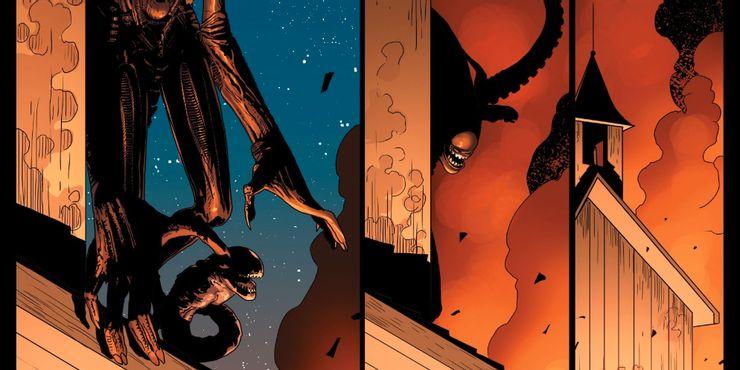 Alien #7 - plansze