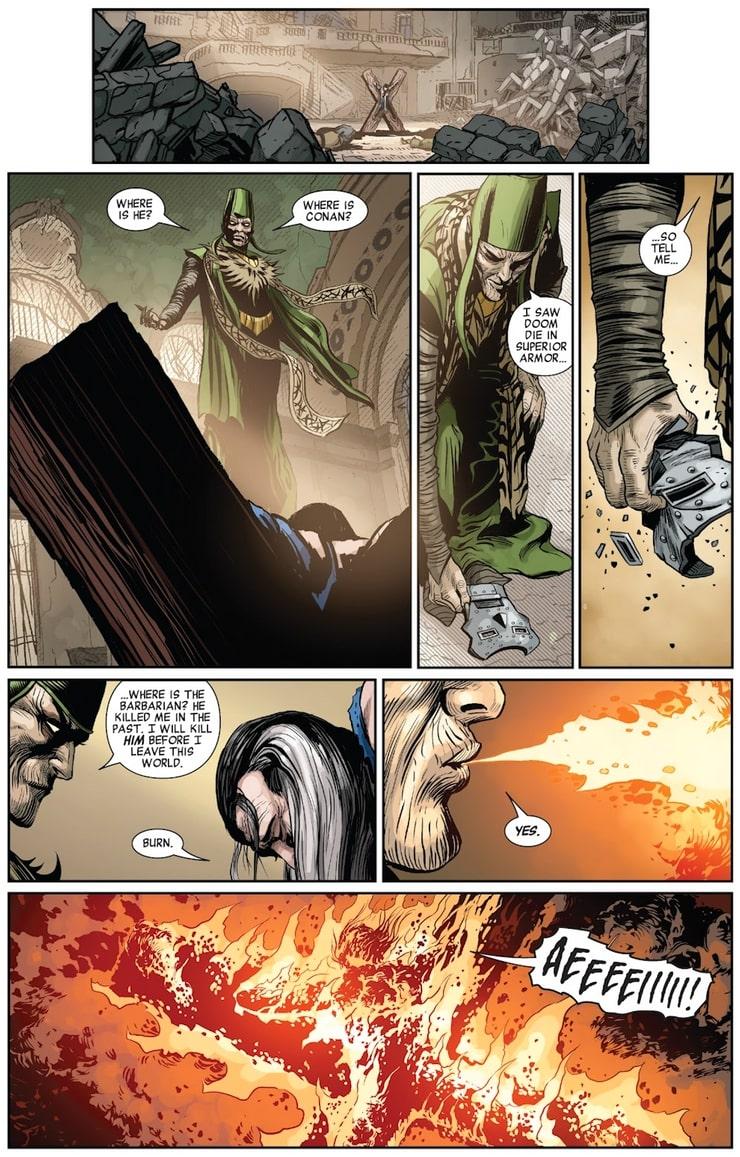 Savage Avengers #24 - plansze