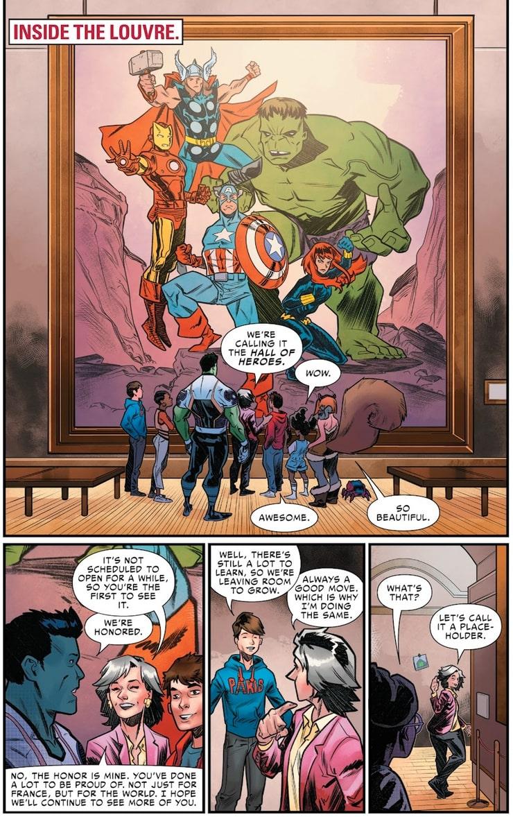 W.E.B. of Spider-Man #5 - plansze